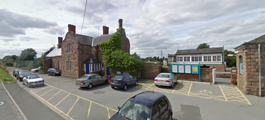 FORMER STATION HOUSE, HELSBY STATION, LODGE HOLLOW, HELSBY, WA6 0AE