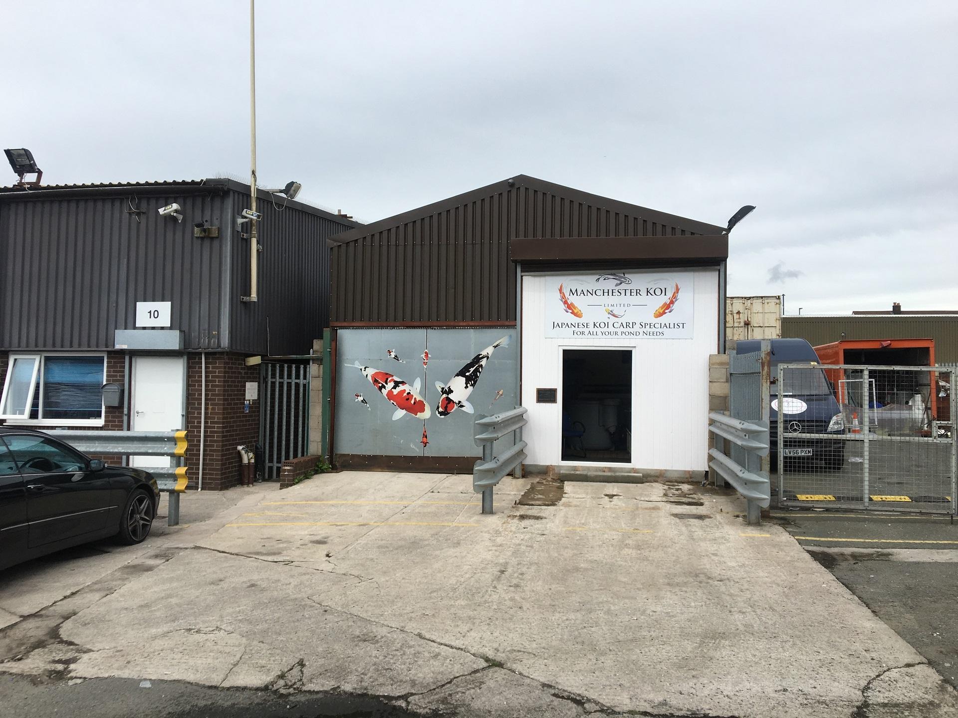 10a MISSOURI AVENUE SALFORD INDUSTRIAL UNIT WITH KOI CARP BUSINESS